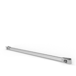WaveLine Merchandiser - Garment Crossbar.  This is the product that will enable a waveline media panel to hold a video monitor.