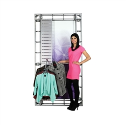 36in Orbital Express Truss Hanging Rack. Orbital Express Truss Merchandising Hanging Rack add functionality and options to any Orbital Truss kit. Accessories panels are an a la carte add on option for 10ft, 20ft and island Orbital kits.