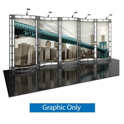 10ft x 20ft Hydrus Orbital Express Truss Replacement Fabric Graphics. Create a beautiful trade show display that's quick and easy to set up without any tools with the 10x20 Hydrus Truss Display. Truss displays are the most impactful exhibits