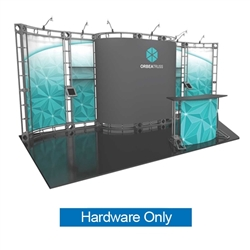 10ft x 20ft Orbea Orbital Express Trade Show Truss Display Hardware Only is a complete truss exhibit, professionally designed to fit a 10ft � 20ft trade show booth space. Orbital truss displays are most popular trade show displays