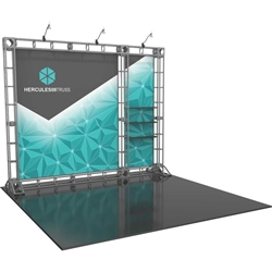 10ft Hercules 08 Orbital Express Truss Back Wall Kit (Fabric Graphics). Truss is the next generation in dynamic trade show structure. Easy to assemble, exhibit and trade show display truss system designs can be used for structure or decorative.