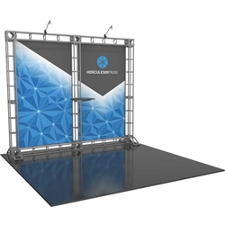 10ft Hercules 09 Orbital Express Truss Back Wall Kit (Fabric Graphics). Orbital Express Truss is the next generation in dynamic trade show structure. Easy to assemble, exhibit and trade show display truss system designs can be used for backwall