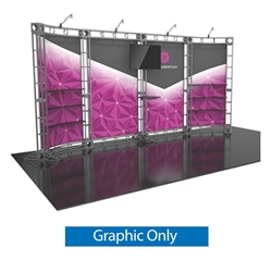 20ft Hercules 15 Orbital Express Truss Replacement Fabric Graphics Only. It is the next generation in dynamic trade show structure. Modular and portable display truss for stage systems, trade show exhibit stands, displays and back wall booths