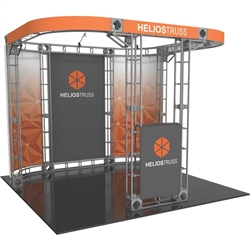 10ft x 10ft Helios Orbital Express Trade Show Truss Display Booth Hardware Only is a strong, professional, ultra-slick and stylish truss booth exhibit. Orbital Express Truss will give your next tradeshow the amazing look of a full custom exhibit.