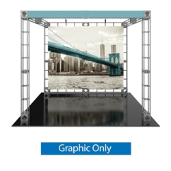 10ft x 10ft  Luna-1 Orbital Express Trade Show Truss Display Replacement Fabric Graphics ONLY. Orbital Expo Truss Express will give your next trade show the amazing look of a fully custom designed exhibit. Truss is the next generation in dynamic displays