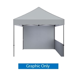 Outdoor 10ft x 10ft  Zoom Tents offer heavy duty commercial-grade popup frames designed for professional use. Canopies can customized with full color printing to display your company branding. Showcase your business name with our outdoor event tent