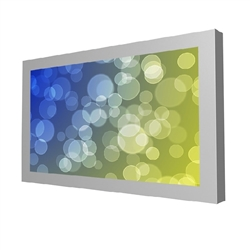 "46"" fully customizable digital signage enclosure by Peerless.  Create a custom digital kiosk by choosing this elegant enclosure, a commercial grade monitor of your choice and any media player or computer that suits your needs. This flexibility also ensure"