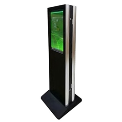 42in Double Sided Touch Screen Kiosk with Integrated Android Player - SmartMedia KIO-42AT-B