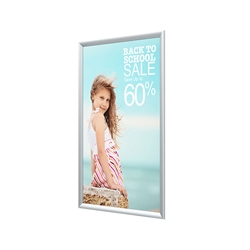 Plasti Snap Frame Only designed to get your marketing message noticed on the trade show or retail floor. These store displays hold 8.5in x 11in custom graphics that are easy to replace & update.