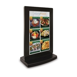 Replace your old back-lit signs with a dynamic high definition 22in PF22H7KC All-In-One Interactive Touch Tabletop Kiosk with BrightSign Built-In deliver video, photos and audio to help blend strong branding, and digital signage and product display into a