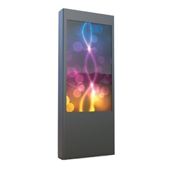 Replace your old back-lit signs with a dynamic high definition 55in Outdoor Commercial LCD All-In-One Display deliver video, photos and audio to help blend strong branding, and digital signage and product displays.