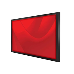 43in Commercial Display Engage Your Customers with our industrial grade touch screen monitors. Our screens feature fast and accurate touch sensitive Infrared (IR) technology.