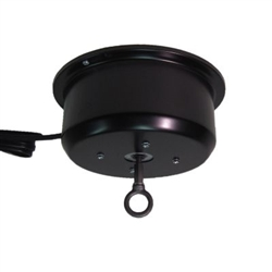 This rotating ceiling motor for hanging displays ships in one day and is ready to use out of the box.  Comes standard with clockwise rotation at 2 RPM and 40 lb Capacity. Get your display noticed with motion!