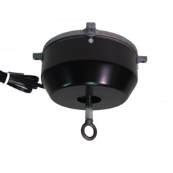 This rotating ceiling motor for hanging displays ships in one day and is ready to use out of the box.  Comes standard with clockwise rotation at 2 RPM and 75 lb Capacity. Get your display noticed with motion!