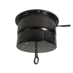 This rotating ceiling motor for hanging displays ships in one day and is ready to use out of the box.  Comes standard with rotating 4 amp outlet, clockwise rotation at 2 RPM and 40 lb Capacity.  Get your display noticed with motion!