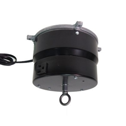 This rotating ceiling motor for hanging displays ships in one day and is ready to use out of the box.  Comes standard with rotating 4 amp outlet, clockwise rotation at 2 RPM and 75 lb Capacity.  Get your display noticed with motion!