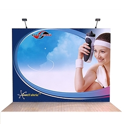 10ft OneFabric Straight Popup Display (Replacement Fabric without End Caps) represent one of the newest innovations in pop-up displays. It combines the easy setup of pop-up displays with the latest technology in digitally printed fabric graphics.