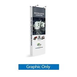 Bombora are tall free standing double sided graphic displays. The double sided graphics allow you to place it in almost any indoor location for maximum exposure - use in a wide variety of locations: Exhibition halls, shopping malls, retail showrooms etc.
