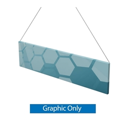 Flat Shape 2D Trade Show Hanging Sign is a must have at your next trade show. Available shapes hanging sign are round, flat, square, curved square, tapered square and triangle. Ceiling banners bring instant excitement to any convention or trade show.