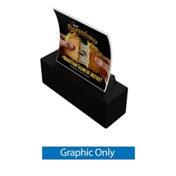 6ft x 5ft Wave Waveline Display (Graphic Only)