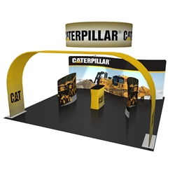 20ft x 20ft Aruba Arch Trade Show Exhibit Display (Graphic & Hardware)