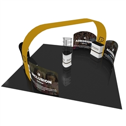 20ft x 20ft Bali Arch Trade Show Exhibit Display (Graphic & Hardware)