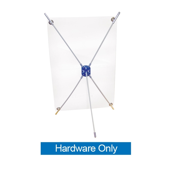 11 Quot X 17 Quot Mini X Table Top Banner Stand Hardware