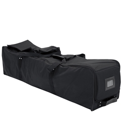 10ft x 10in Compact Event Tent Soft Case with Wheels. Protect your investment. This case makes transportation and storage simple.