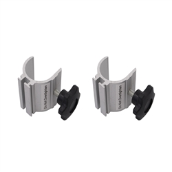 EuroFit Light Clamp, Pair. This clamp lets you add an Ultimate Light Kit to your EuroFit display.