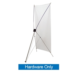32in x 72in Tripod Banner Display allows your customers to quickly set up their graphics. Banner displays provide a heavy duty, economical solution for your graphic display needs. Display your banner with our attractive, lightweight banner stands