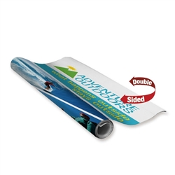Replacement Graphic for Four Season Dual Track Banner Display , with over 7ft of graphics, you are sure to grab the attention of people walking by. Double outdoor banner displays creates a huge outdoor banner display. Order Outdoor Banner Stands Online