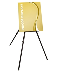 Display even large 36in tablets on the Jumbo Easel. The rubber feet and top clip ensures the paper stays put. Also accommodates rigid graphics, light boxes, art work and sign frames. Display easels are meant for the display of finished works.