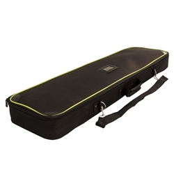 40 in Soft Case for Stellar Telescoping Retractor. Carrying case for use with banner stands & displays, back walls, and trade show accessories. Snaps shut to keep your display or graphics stored correctly. Rolls easily from place to place.