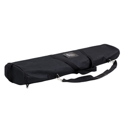 37.5 in (W) x 5 in (H) x 9.25 in (L) Stratus Retractor Hardware Soft Case Only. xyzDisplays offer soft carrying cases for your portable canopy tents, trade show graphics, banner stands, hanging banners and signs, or other exhibit displays