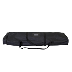 36.75 in (W) x 4 in (H) x 10.63 in (L) Four Season Trek Lite Retractor Soft Case Only. xyzDisplays offer soft carrying cases for your portable canopy tents, trade show graphics, banner stands, hanging banners and signs, or other exhibit displays