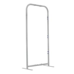 2ft x 4ft EuroFit Tabletop Straight Wall Kit (Hardware Only)