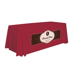 6ft Stylish and elegant, Creative Banners Stain Resistant Standard Throw 1 Color Thermal professionally present your company image at events and trade shows. These premium quality polyester twill table throws are easy to care for and can be easily washe