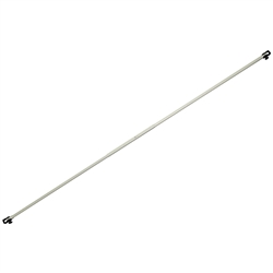 Event Tent Half Wall Stabilizing Bar - Stabilizes and provides a clean finish to your half wall.