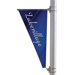24in x 48in Triangle Boulevard Banner. 