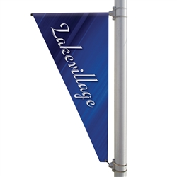 30in x 60in Triangle Boulevard Banner . 