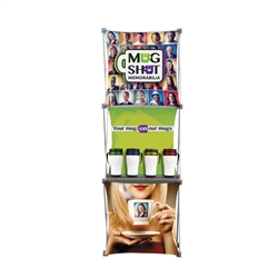 Deluxe Geometrix Tower Fabric Display Kit 3-quad are a great way to create a new design, look, and feel ... The Deluxe Geometrix series offers many of the features the exhibitors look for in a high quality trade show pop up fabric display