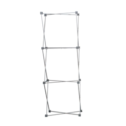 3ft x 8in Deluxe Geometrix 3qd Tower Display Frame is the unique look that you are looking for and comes in a wide range of designs. Easy set-up and a eye catching look, that is what our 3-D Pop Up displays are all about.