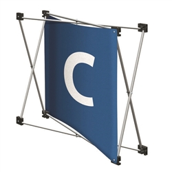 Replacement GeoMetrix Graphic Banner C for Tension Fabric Pop Up Deluxe Geometrix Displays and Geometrix Displays. Geometrix series same as Xpressions offers many of the features the exhibitors look for in a high quality display