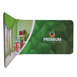 10ft x 4ft EuroFit 90 Degree Angle Kit. These double-sided displays weigh 75% less than standard pop-up displays.