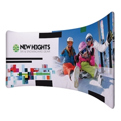 10ft x 6ft EuroFit Drift Double-Sided Kit These double-sided displays weigh 75% less than standard pop-up displays.
