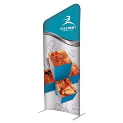 3ft x 7ft EuroFit Incline Kit. These double-sided displays weigh 75% less than standard pop-up displays.