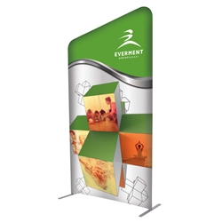 4ft x 7ft EuroFit Incline Kit. These double-sided displays weigh 75% less than standard pop-up displays.