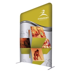 5ft x 7ft EuroFit Incline Kit. These double-sided displays weigh 75% less than standard pop-up displays.