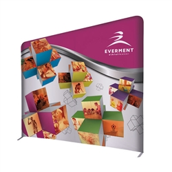 8ft x 7ft EuroFit Incline Kit. These double-sided displays weigh 75% less than standard pop-up displays.