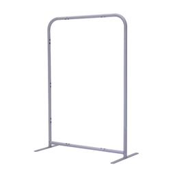 3ft x 54in EuroFit Straight Wall Floor Tension Fabric Display Hardware Only. The uniqueness of a tension fabric display is evident when you see one on the trade show floor.